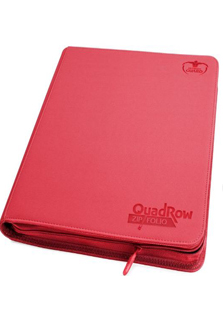 Ultimate Guard Quadrow Zipfolio Red
