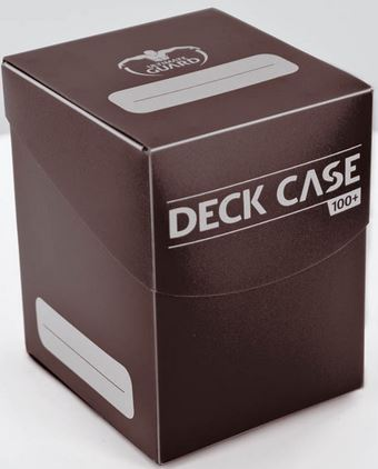 Ultimate Guard Deck Case 100+ Brown