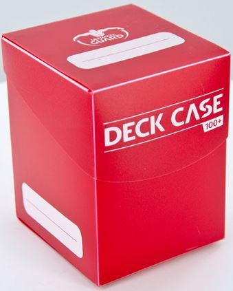 Ultimate Guard Deck Case 100+ Red