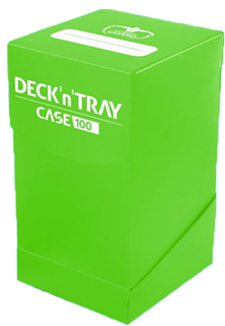 Ultimate Guard Deck'n'Tray 100+ - Green