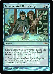 Accumulated Knowledge (FNM Foil)