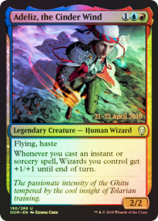 Adeliz, the Cinder Wind (Prerelease Foil)