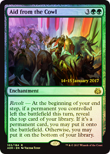 Aid from the Cowl (Prerelease Foil)