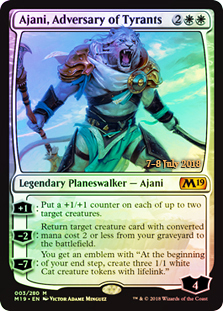 Ajani, Adversary of Tyrants (Prerelease Foil)