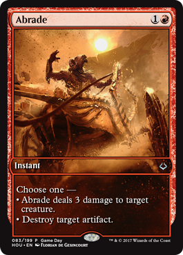 Abrade (Game Day Promo)
